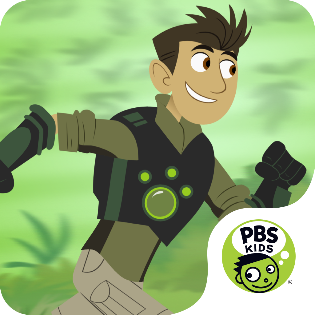 Wild Kratts Rescue Run icon.