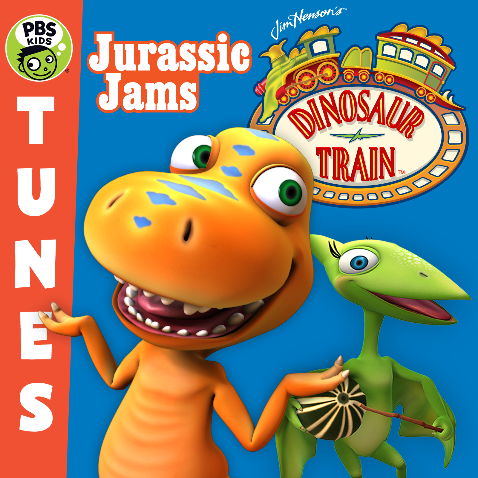 100 Images of Dinosaur Train Cd