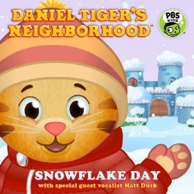 Daniel Tiger's Neighborhood - Snowflake Day icon.