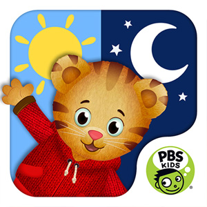 Daniel Tiger's Day & Night icon.