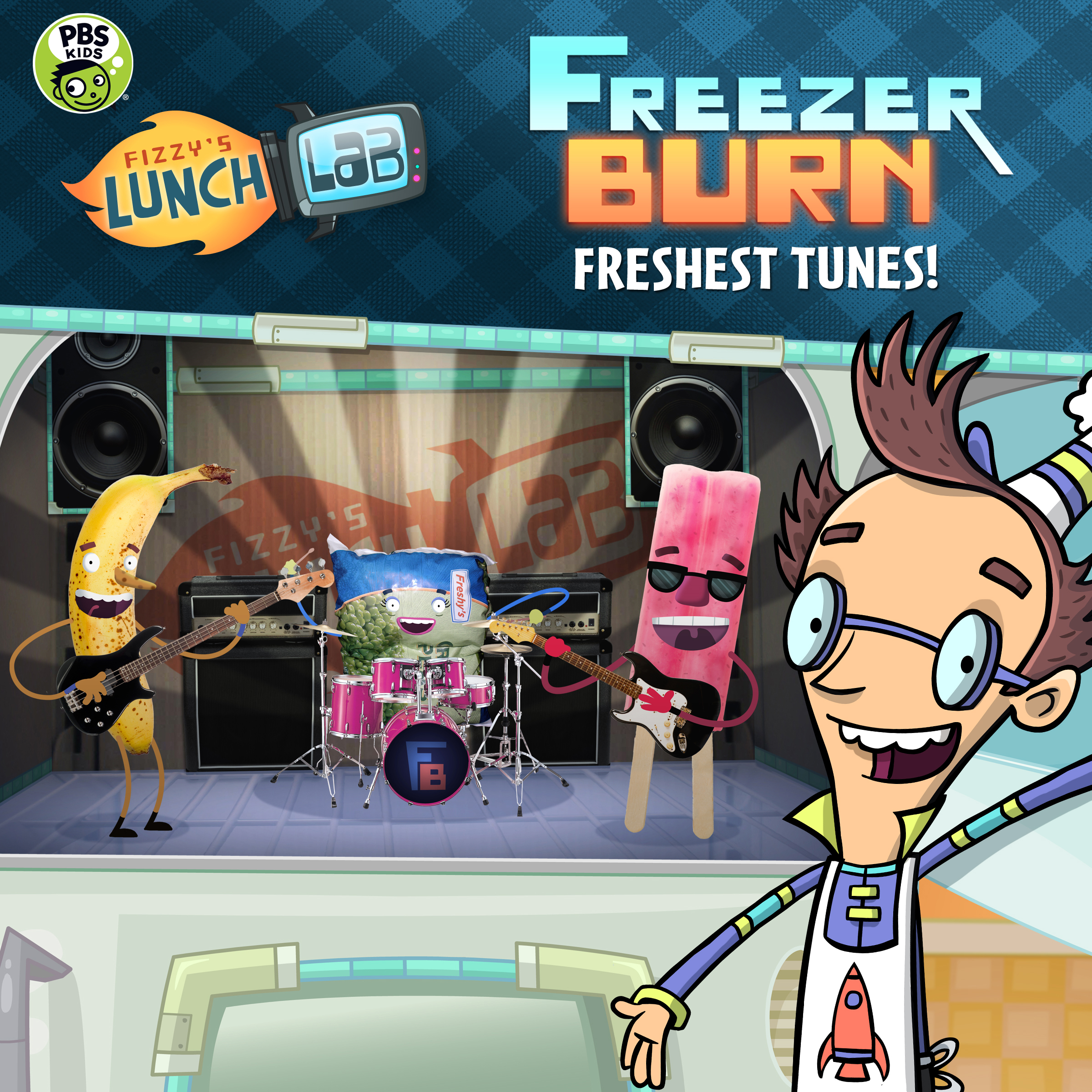 Fizzy's Lunch Lab: Freshest Tunes icon.