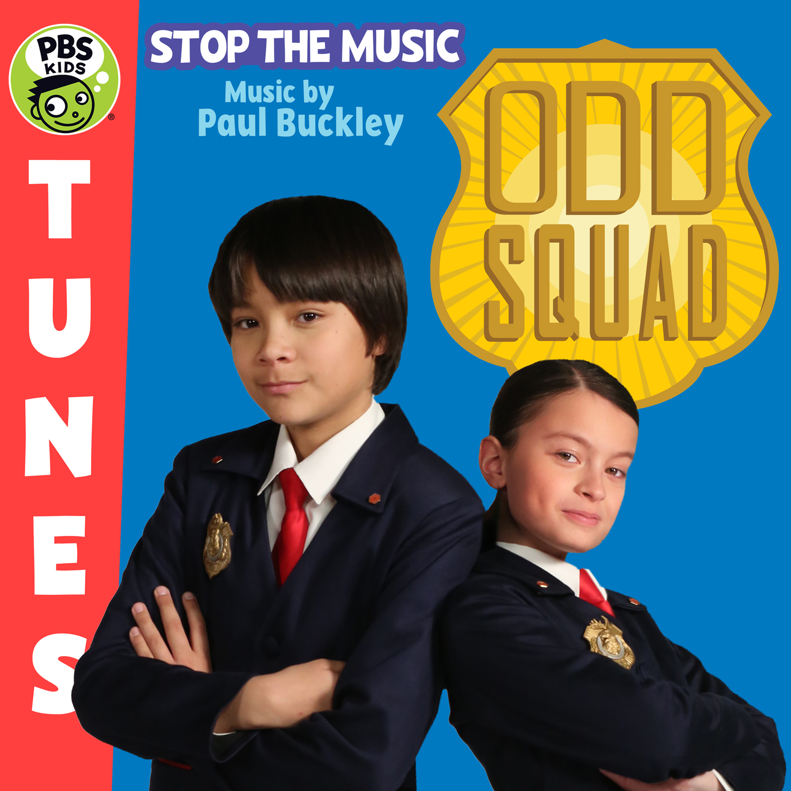 Odd Squad: Stop The Music icon.