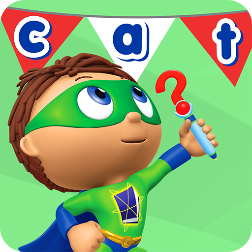 SUPER WHY Phonics Fair icon.