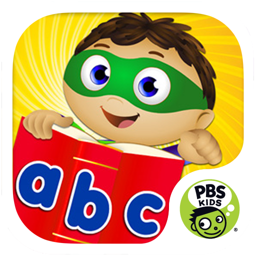 Super Why ABC Adventures icon.
