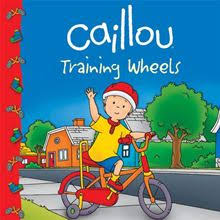 Caillou: Training Wheels icon.