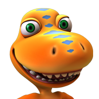 Dinosaur Train icon.