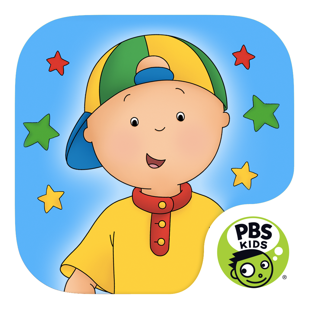 Caillou Let's Pretend icon.