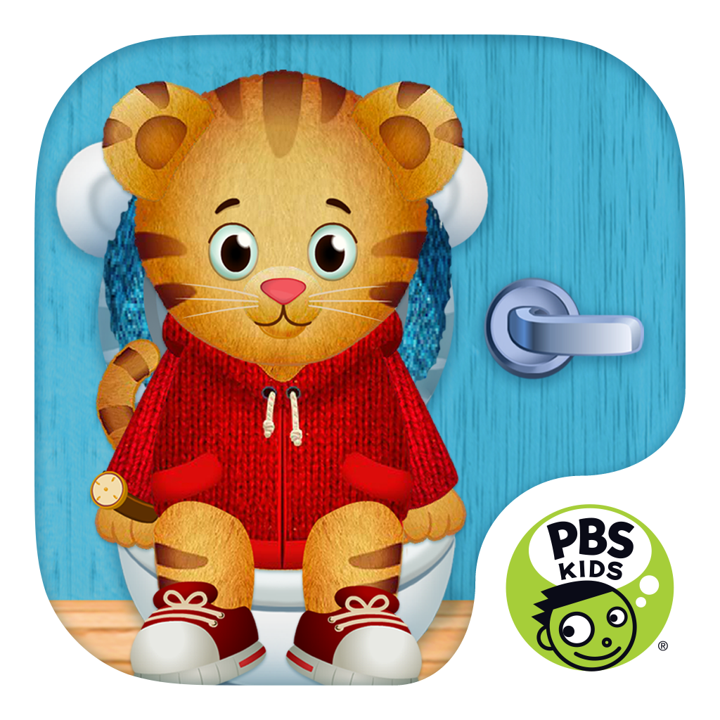 Daniel Tiger's Stop & Go Potty icon.