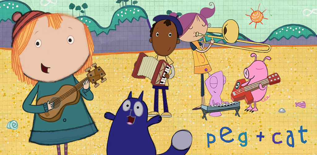 Image result for peg and cat