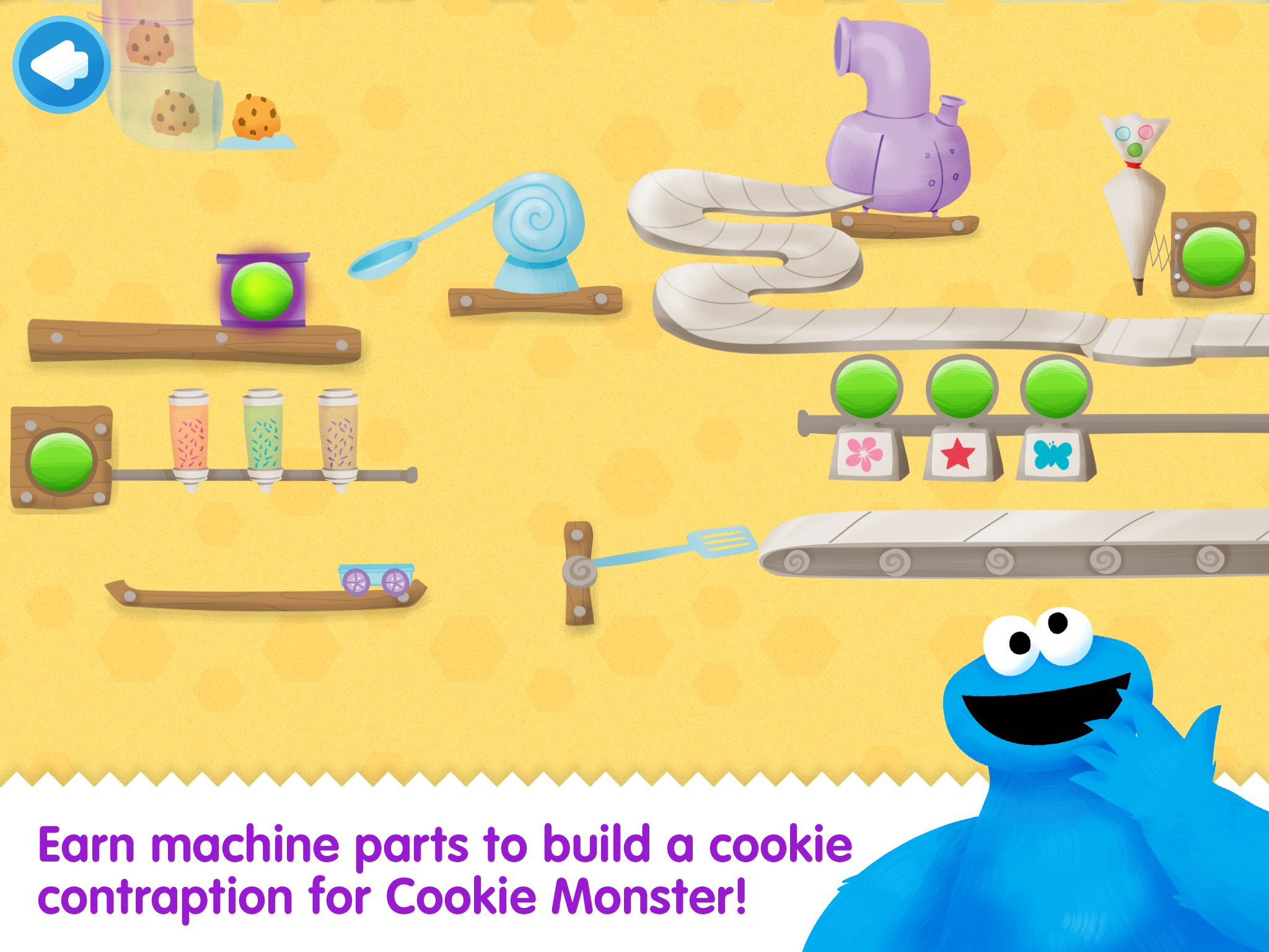 Cookie Monster's Challenge screenshot.