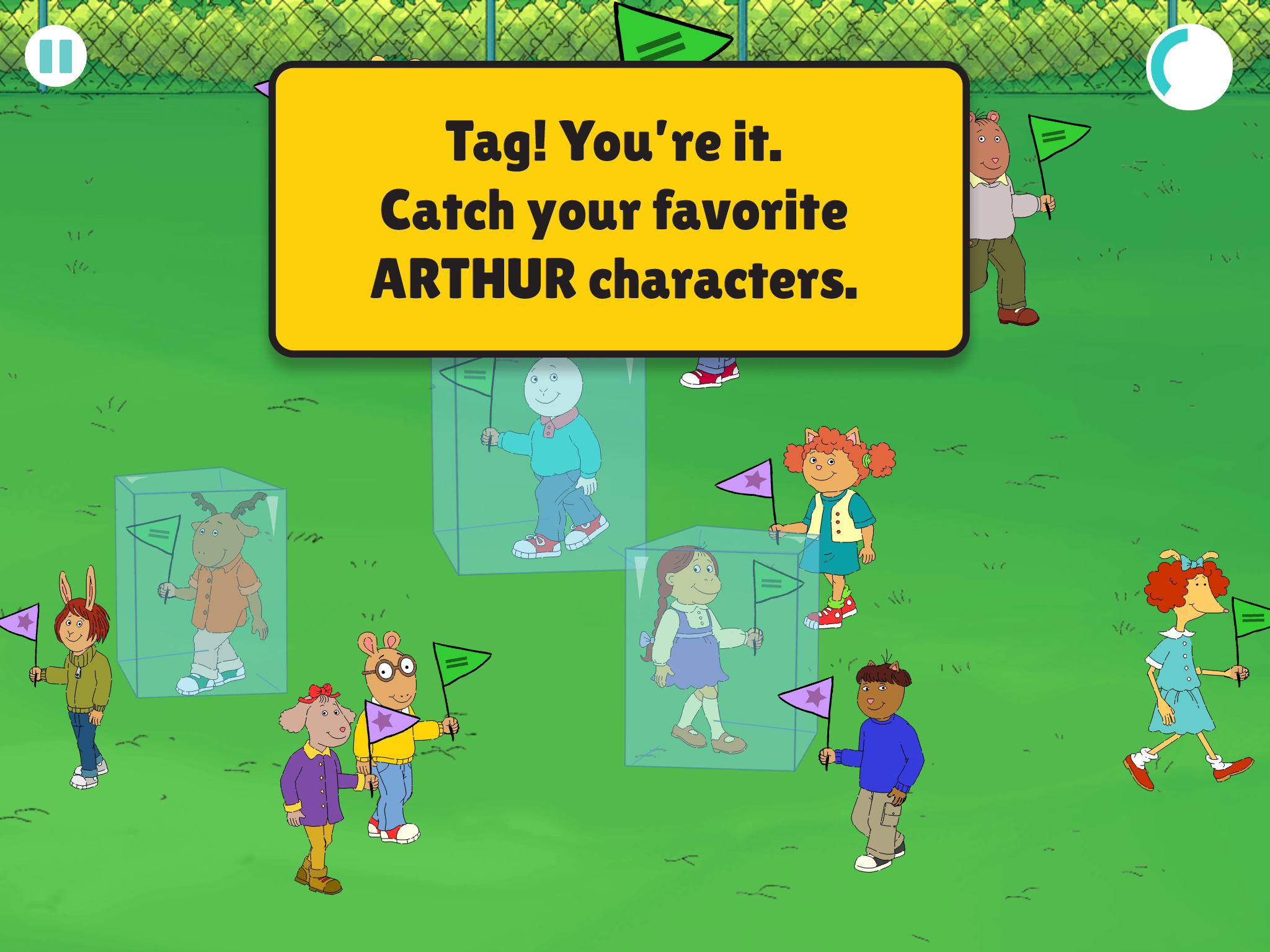 Arthur's Big App screenshot.