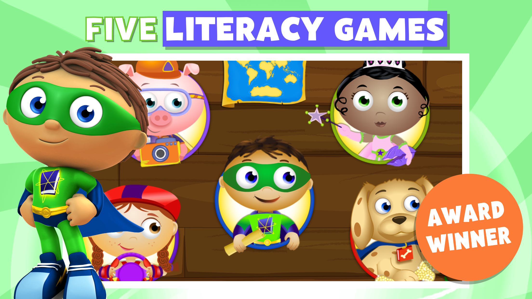 Super Why ABC Adventures screenshot.