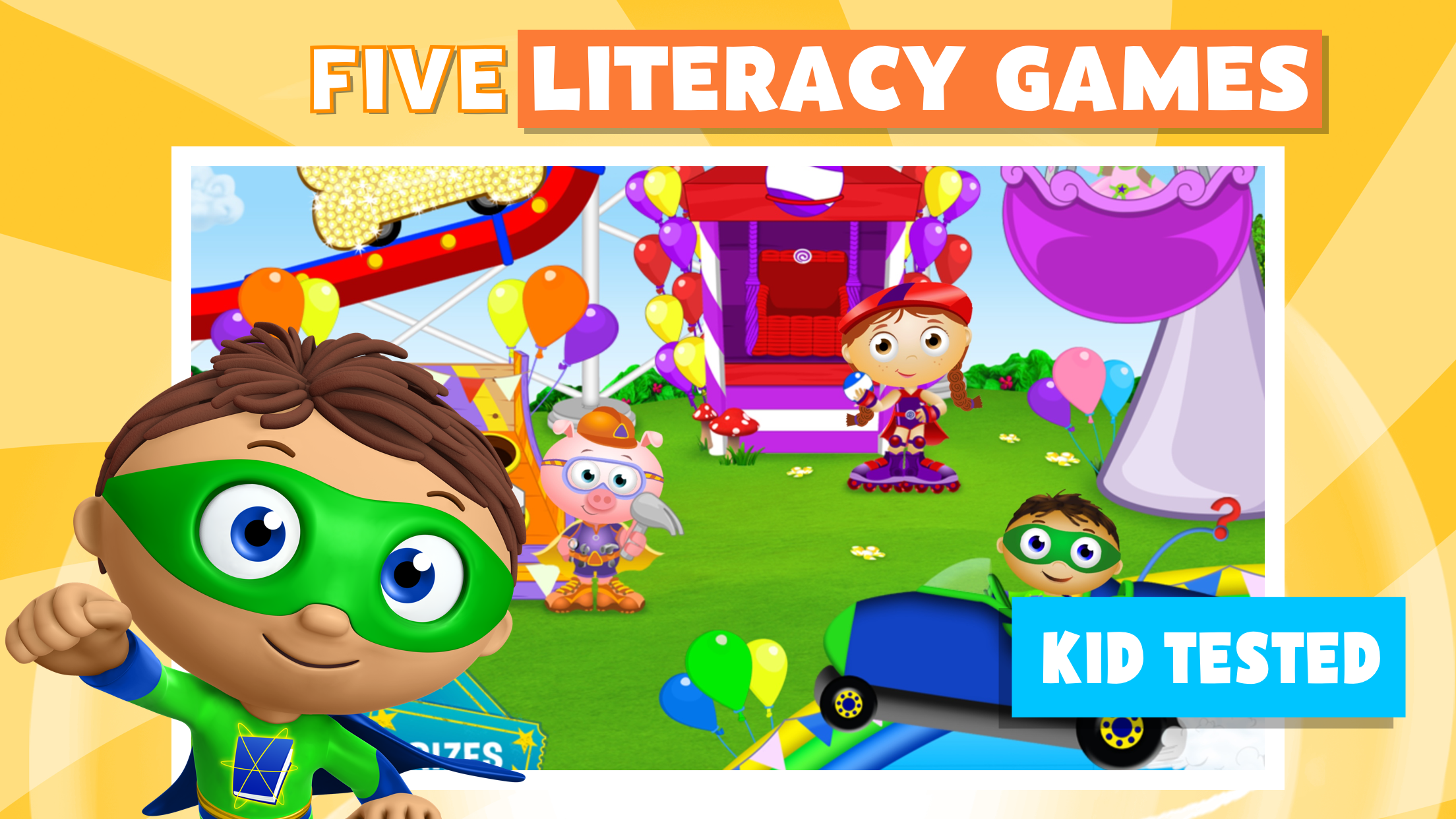 SUPER WHY Phonics Fair Mobile Downloads | PBS KIDS