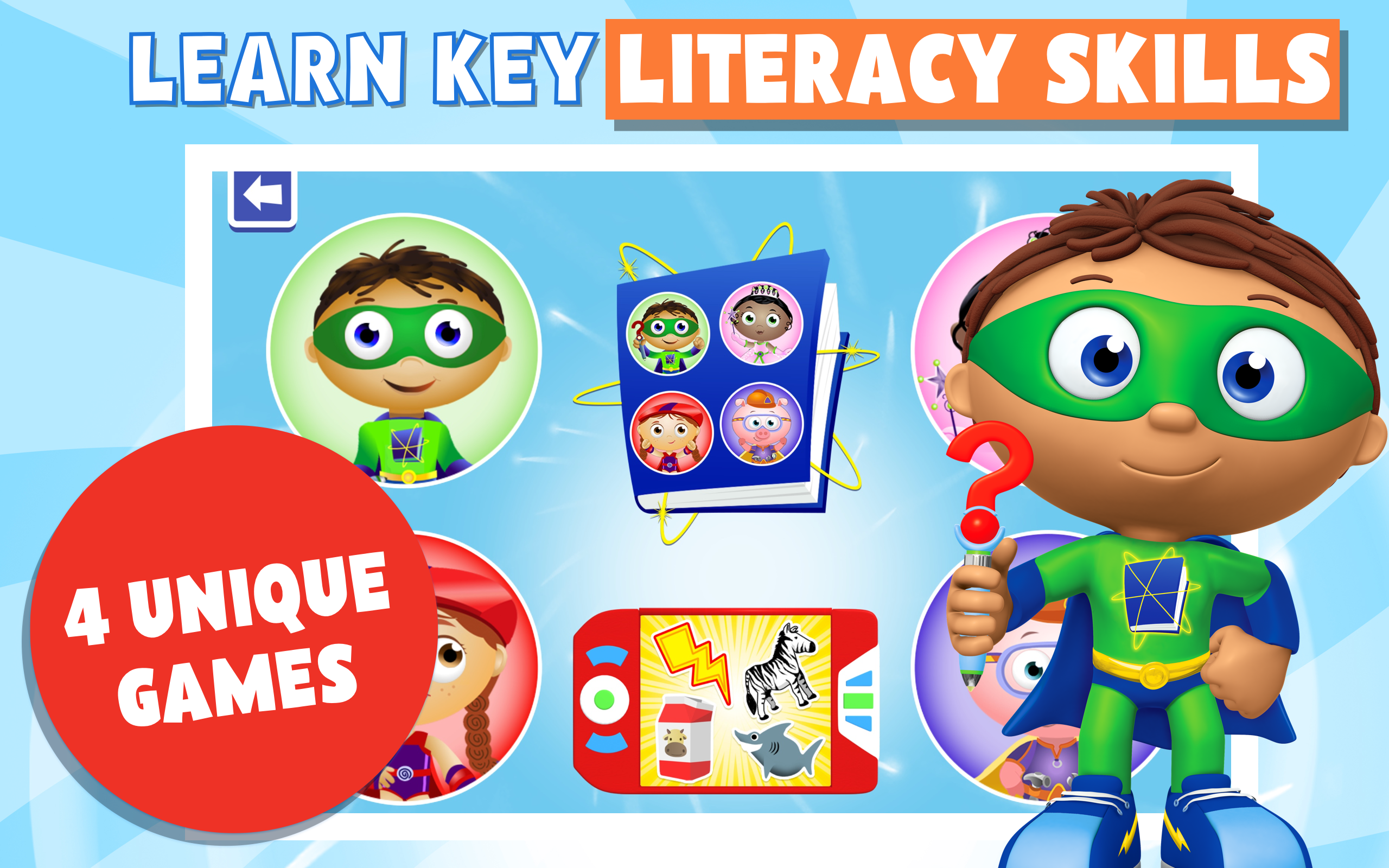 It is a picture of Refreshing Super Why Images