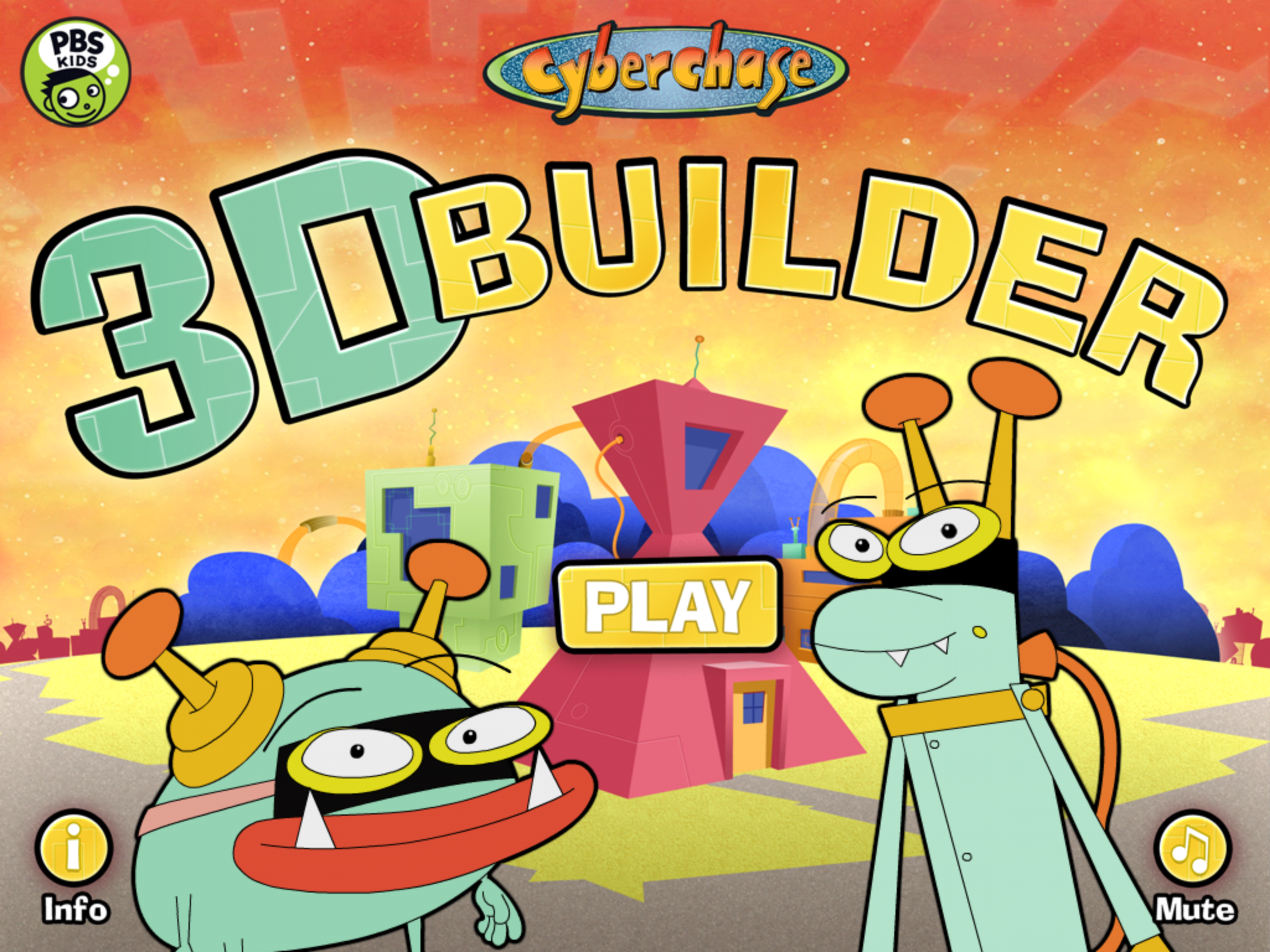 Cyberchase 3D Builder screenshot.