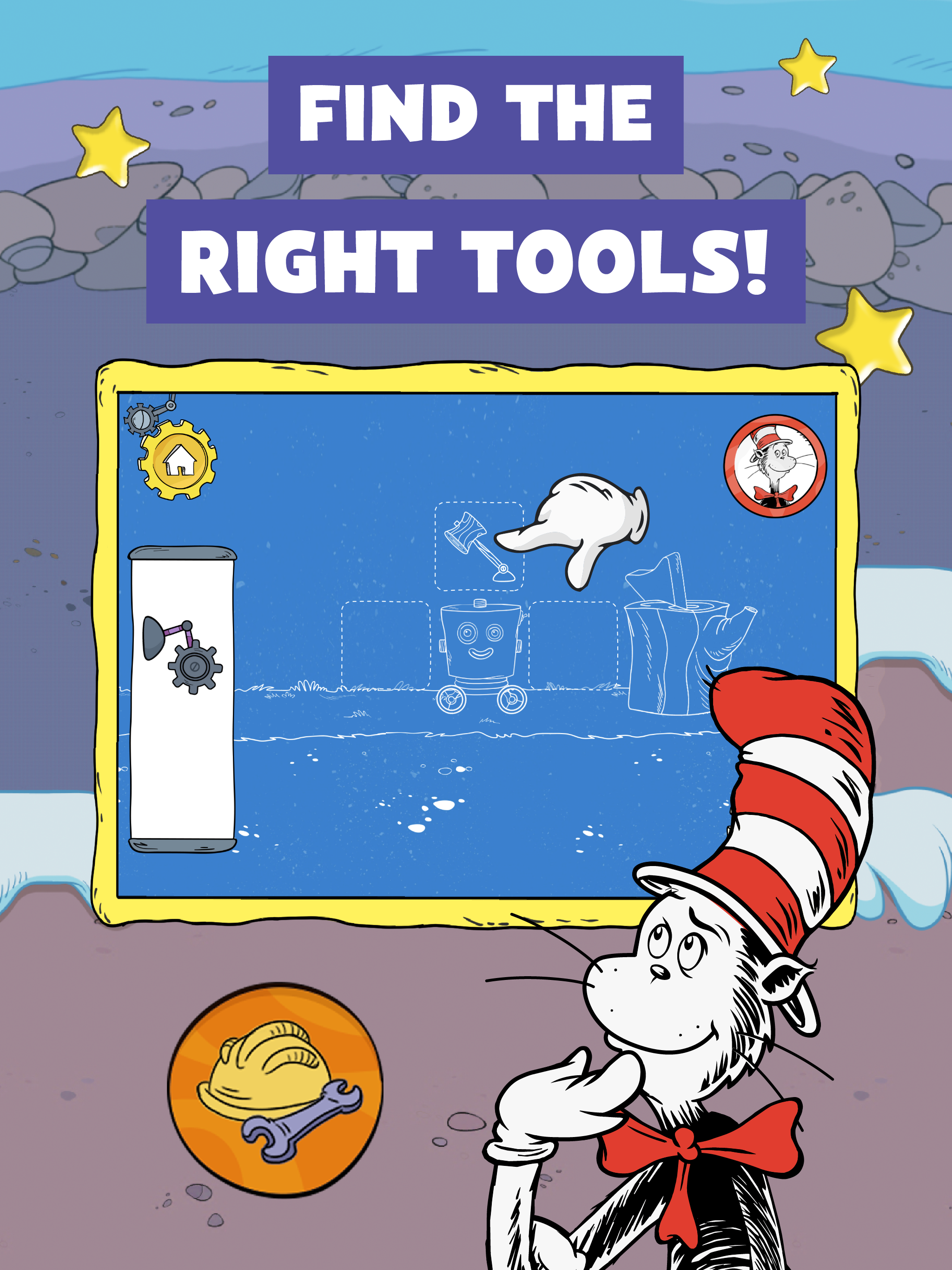 The Cat In The Hat Invents screenshot.