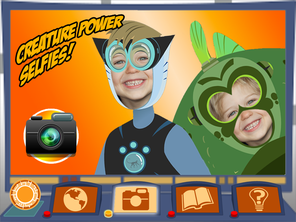 Wild Kratts World Adventure screenshot.