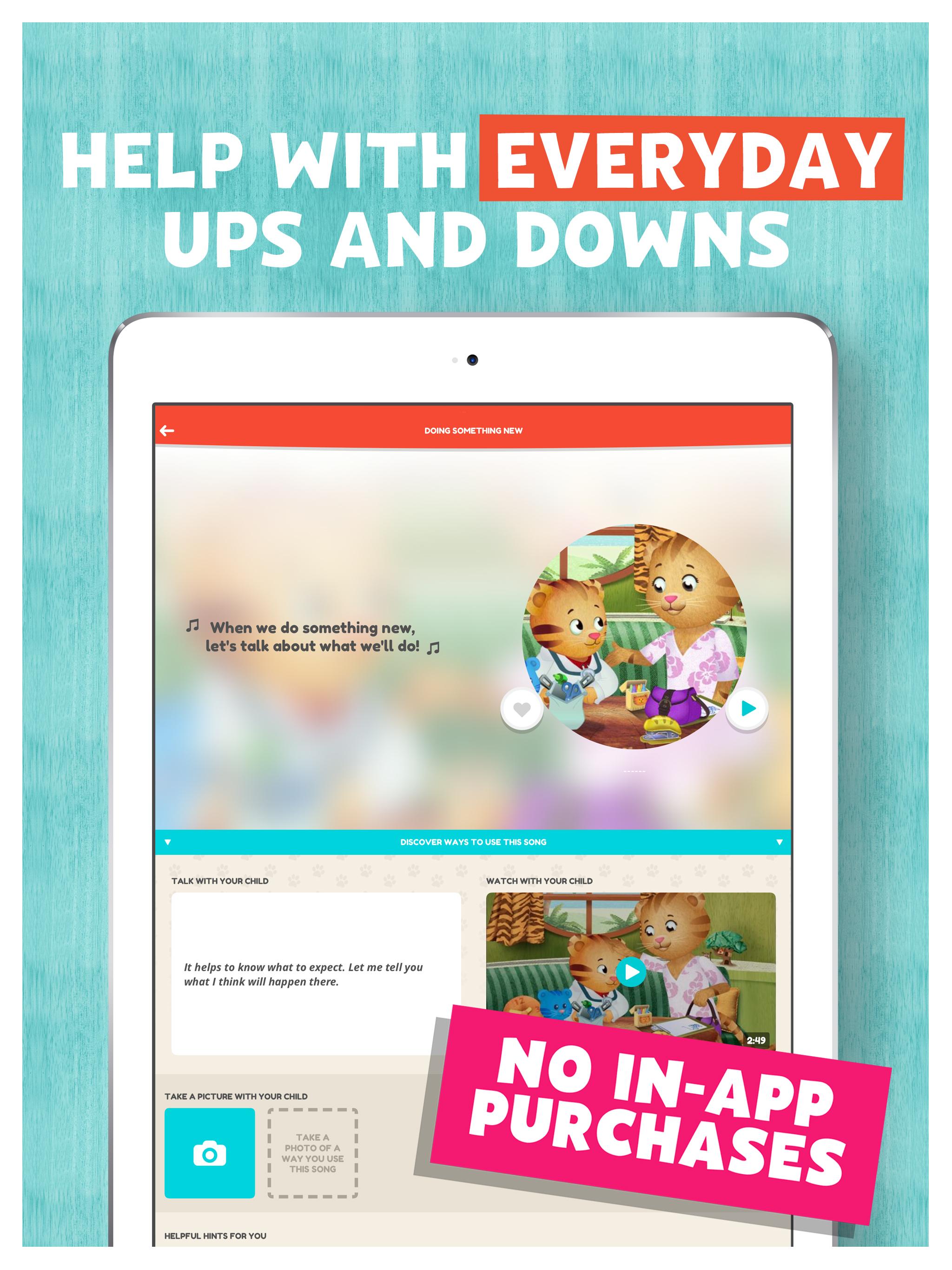 Daniel Tiger for Parents Mobile Downloads | PBS KIDS