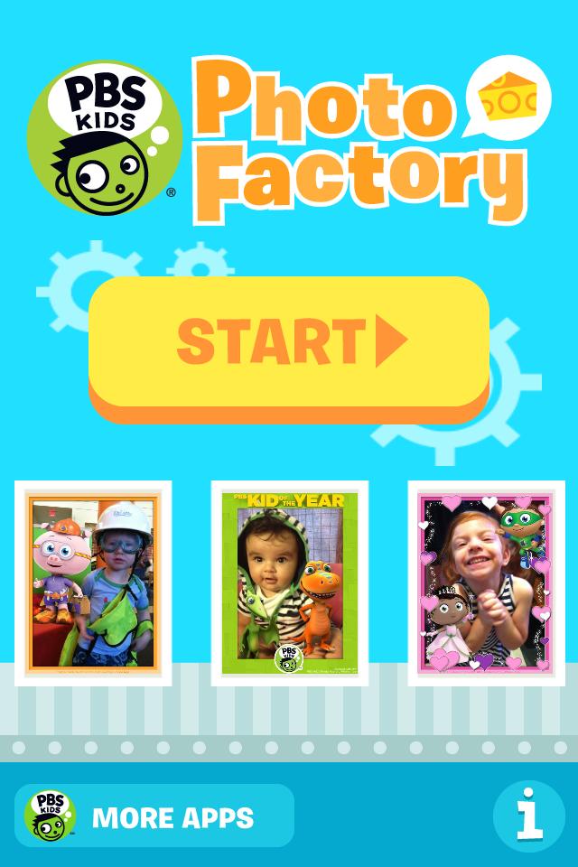 PBS KIDS Photo Factory Mobile Downloads | PBS KIDS
