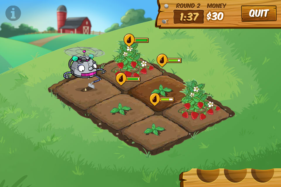 Fizzy's Lunch Lab: Hectic Harvest  screenshot.