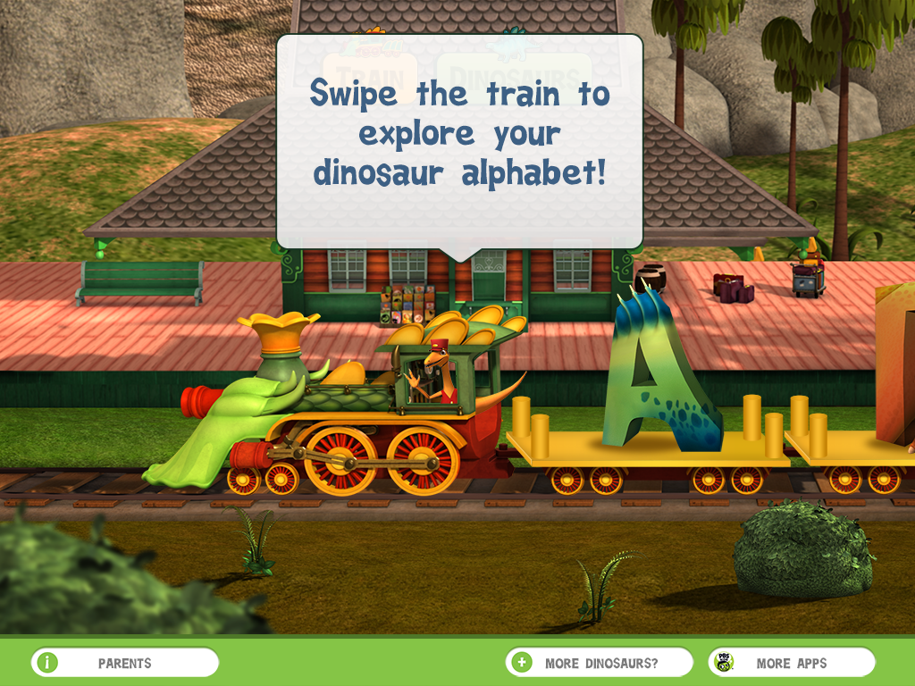 Dinosaur Train A to Z screenshot.
