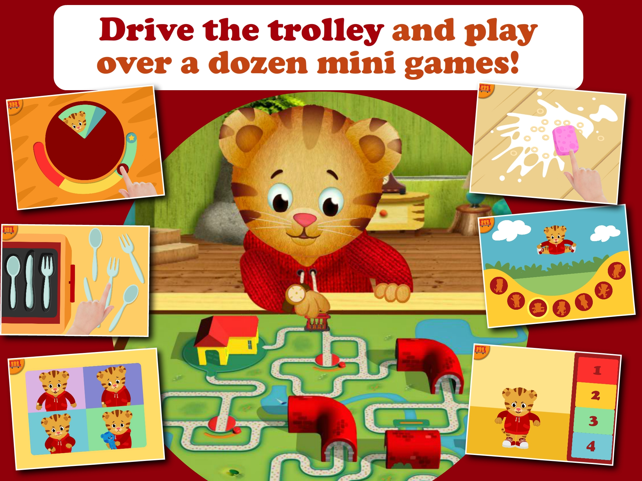Daniel Tiger's Grr-ific Feelings screenshot.