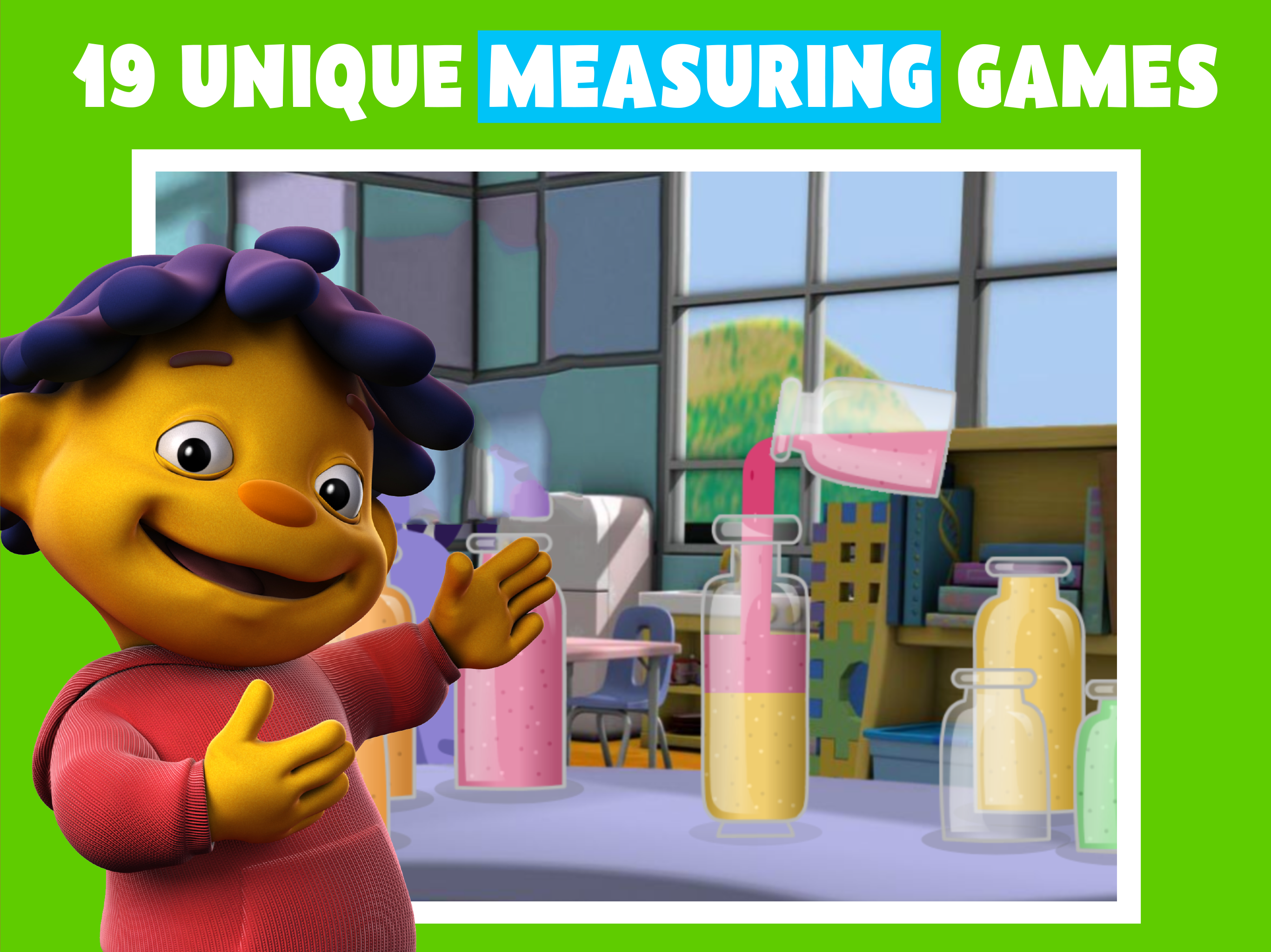 PBS KIDS Measure Up! screenshot.