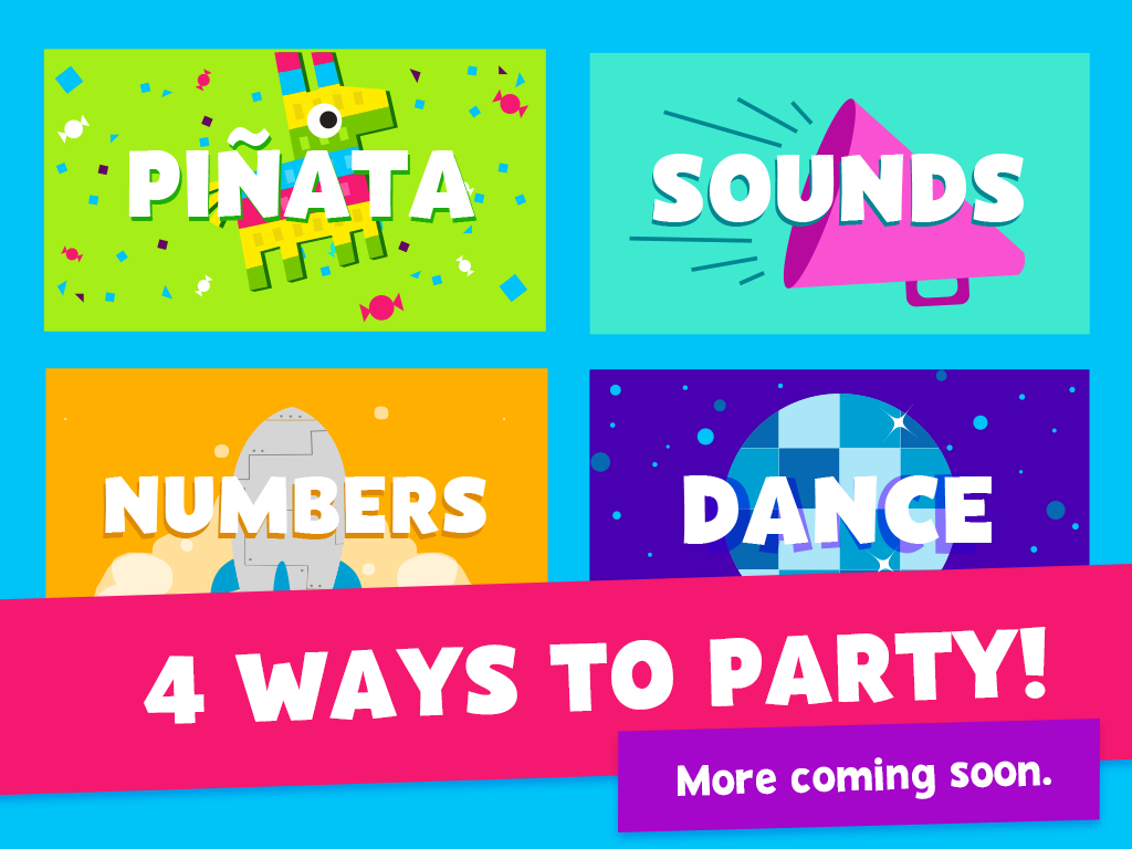 PBS KIDS Party App screenshot.